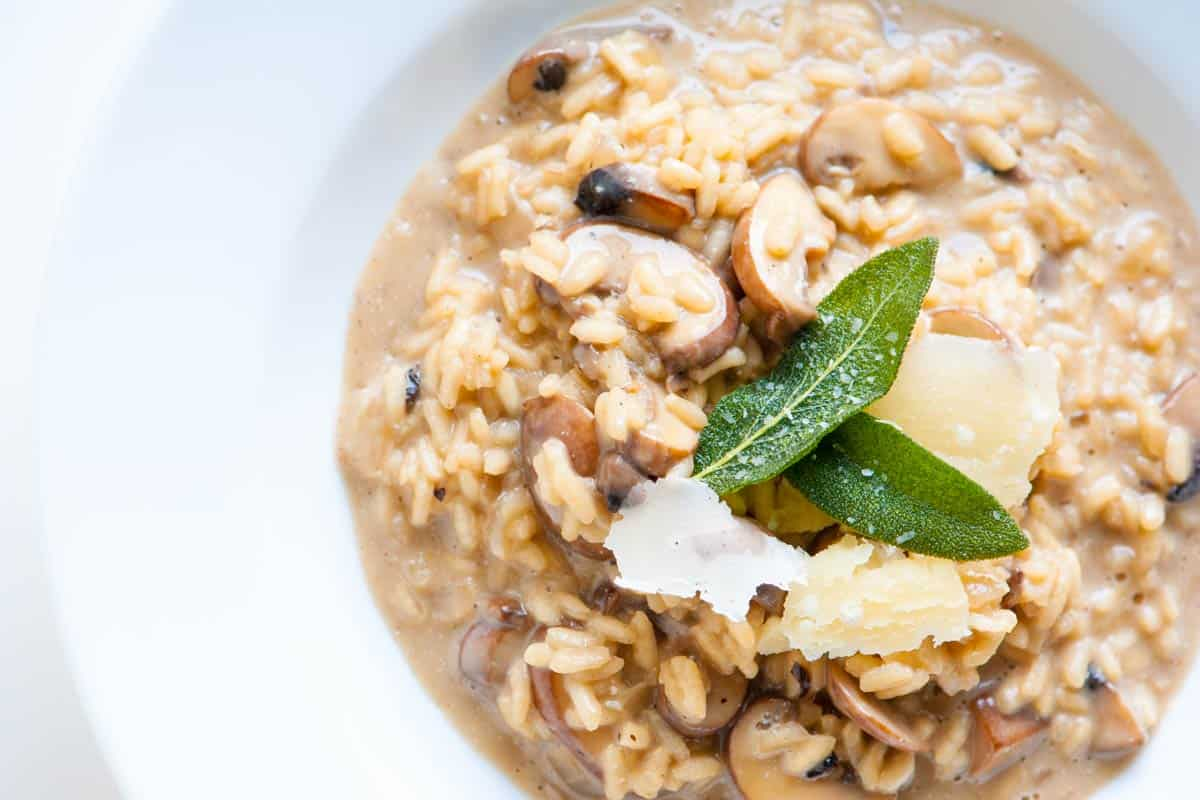 Ultra creamy mushroom risotto recipe for How do i make chicken risotto