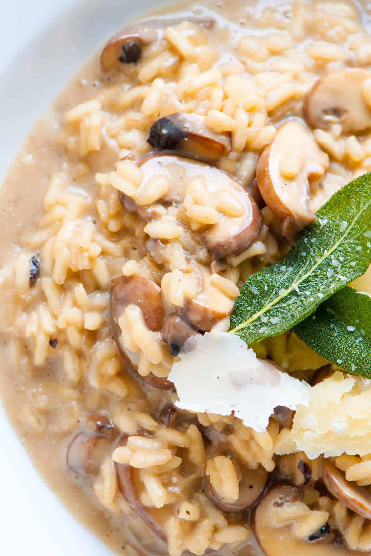 Ultra Creamy Mushroom Risotto Recipe