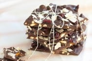 Pretzel, Cranberry and Toasted Coconut Bark-Recipe