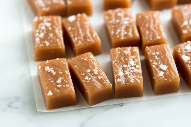 Simple Salted Caramels Recipe