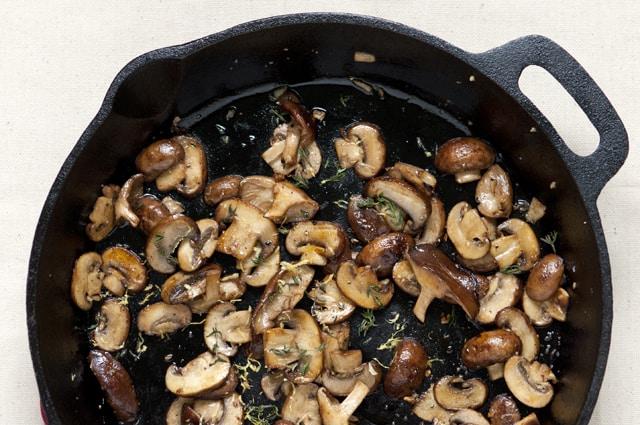 Creamy Mushroom Toast Recipe