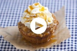 Apple Pie Cupcakes Recipe Video