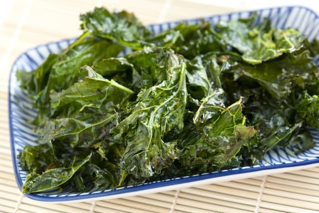 ... 99kB, How to Bake Kale Chips from www.inspiredtaste.net #recipe #kale