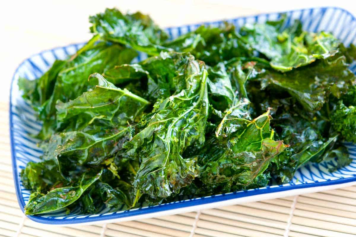 How to Make Crispy Kale Chips