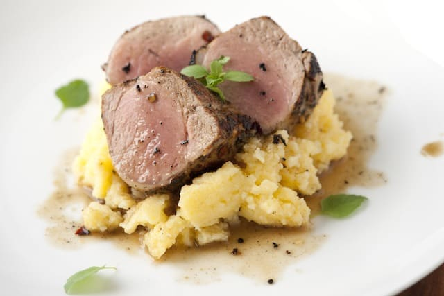 Roasted Pork Tenderloin Recipe from www.inspiredtaste.net #recipe # ...
