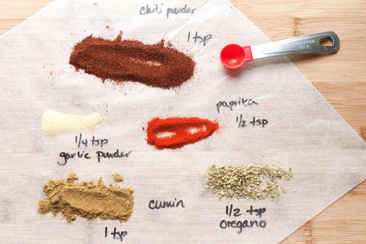 Homemade spice blend