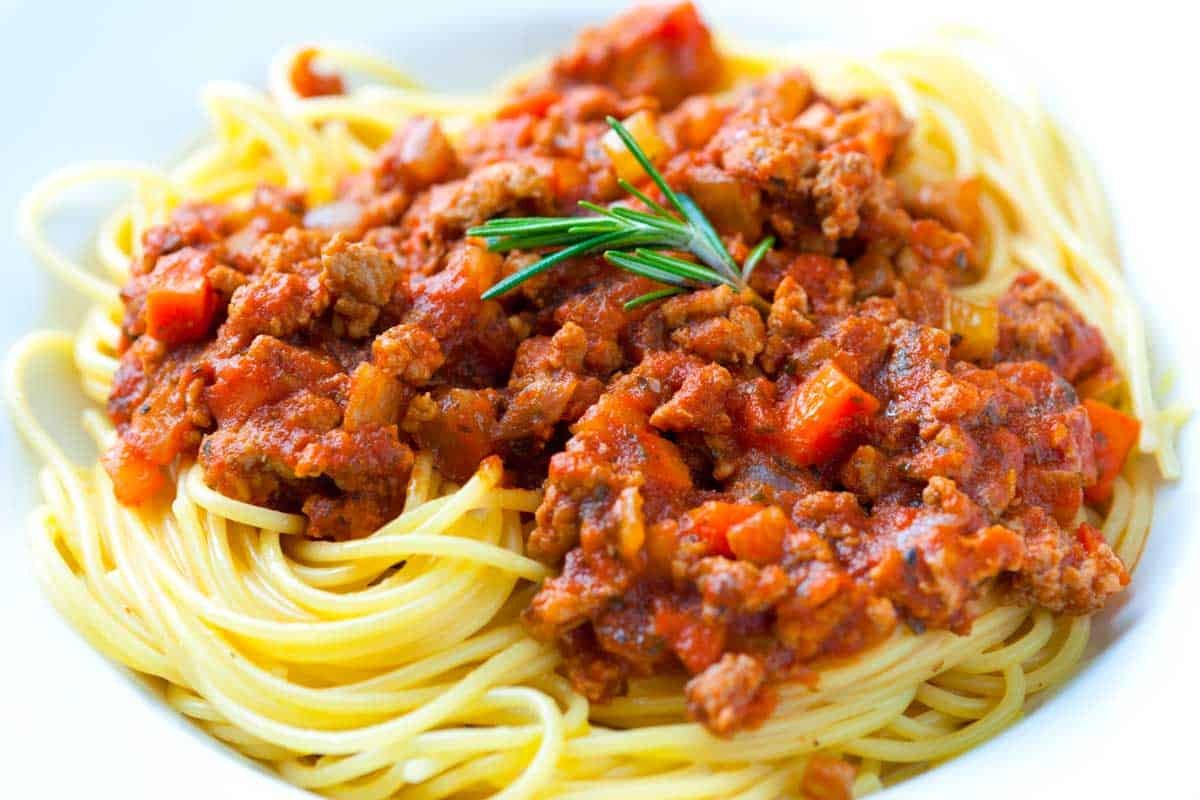 Easy 30 Minute Chicken Ragu Recipe