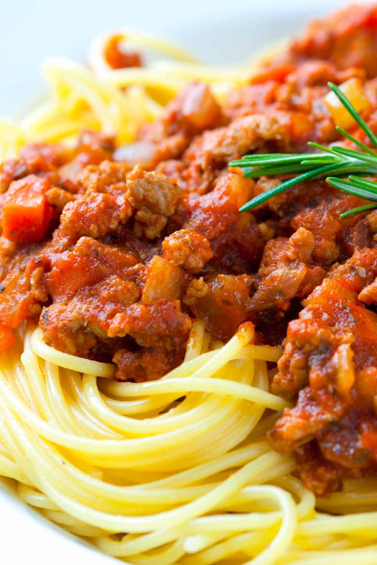 How to Make Ragu with Ground Chicken in 30 Minutes