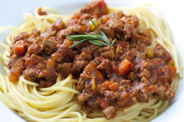 Meat Ragu Recipe- An Easy Red Meat Pasta Sauce Recipes — Dishmaps