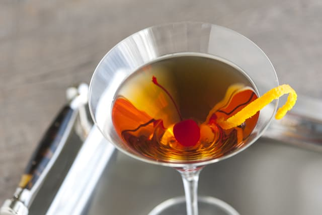 Manhattan Cocktail Recipe 2