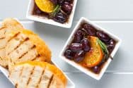 Rosemary Marinated Olives with Clementine