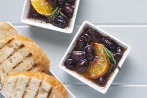 Roasted Olives with Clementine Recipe