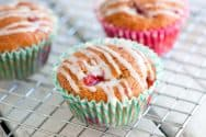 Strawberry Yogurt Muffins Recipe