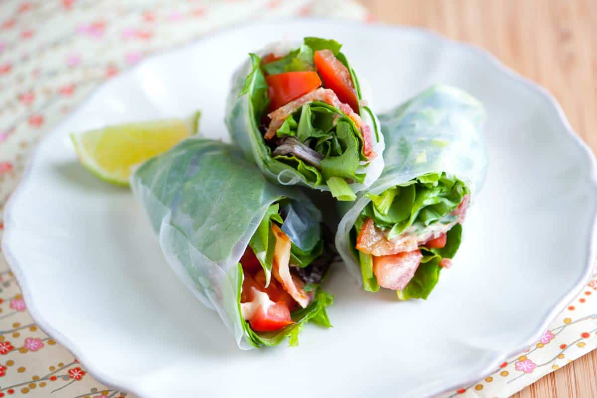 BLT Summer Rolls Recipe