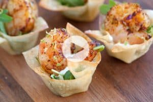 Chili Lime Shrimp Cups Recipe