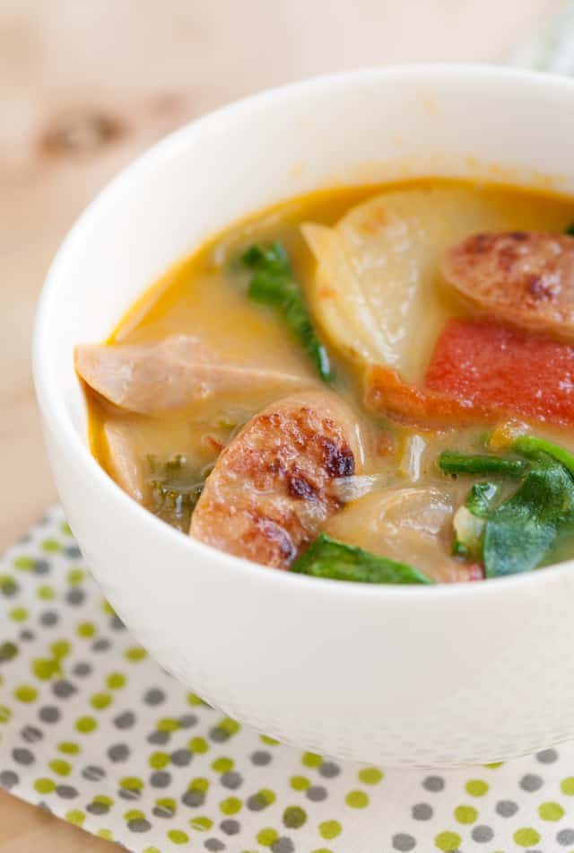 Kale and Sausage Soup Recipe