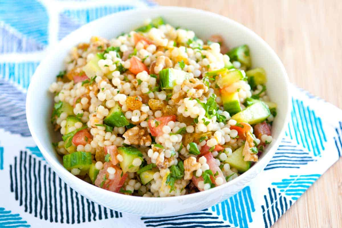 20 Minute, Lemon and Herb Couscous Salad Recipe