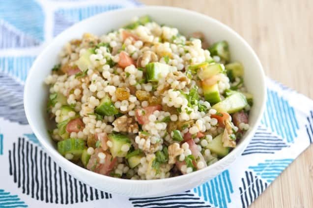 Recipe | Pearl Couscous, Pearl Couscous Salad and Couscous Salad