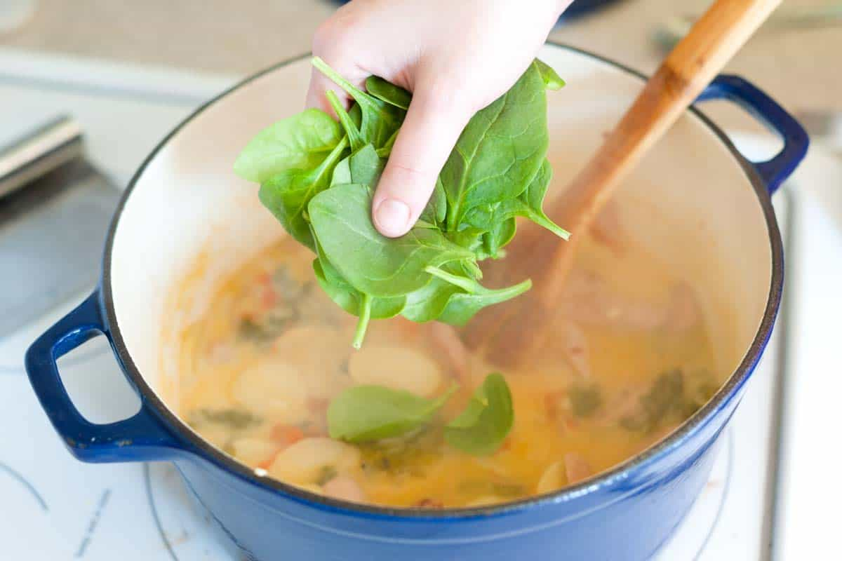 30 Minute Chicken Sausage And Kale Soup Recipe
