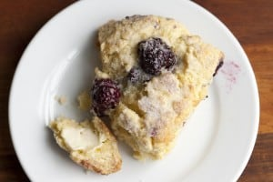 Blackberry Scone-Recipe