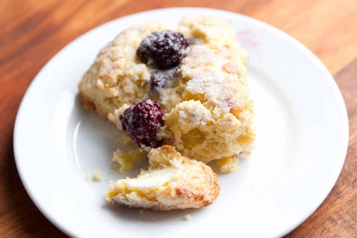 Blackberry Lemon Scones Recipe
