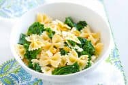 Brown Butter Kale Pasta Recipe