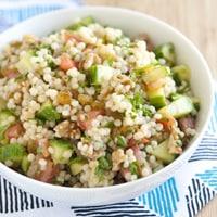 Lemon and Herb Couscous Salad