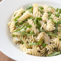 Lemony Pea and Artichoke Pasta