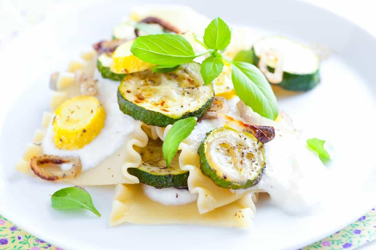 20 Minute Zucchini Lasagna Recipe