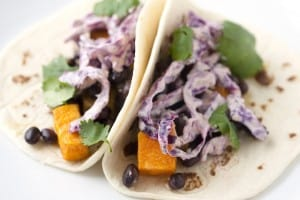 Roasted Sweet Potato and Chipotle Tacos Recipe