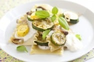 Zucchini Lasagna with Lemony Ricotta Recipe