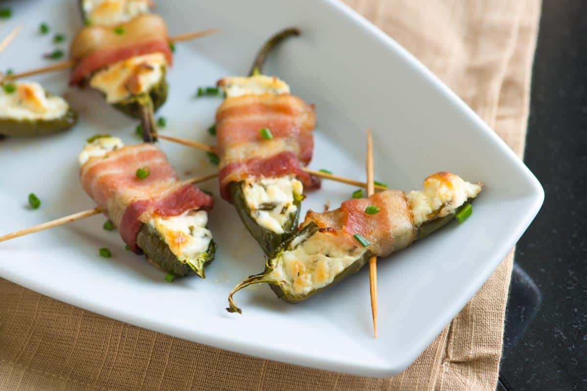 Easy Bacon Wrapped Jalapeno Poppers Recipe