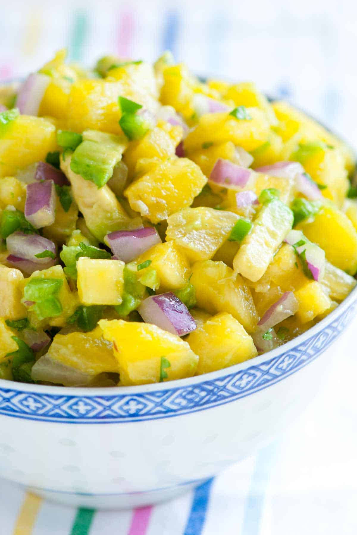 How to Make Spicy Pineapple Salsa
