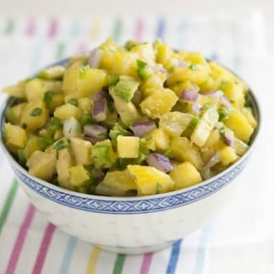 Spicy Avocado and Pineapple Salsa Recipe