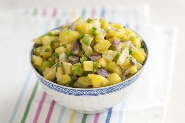 Spicy Avocado and Pineapple Salsa Recipe
