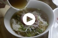 Pho Soup Take Out Video