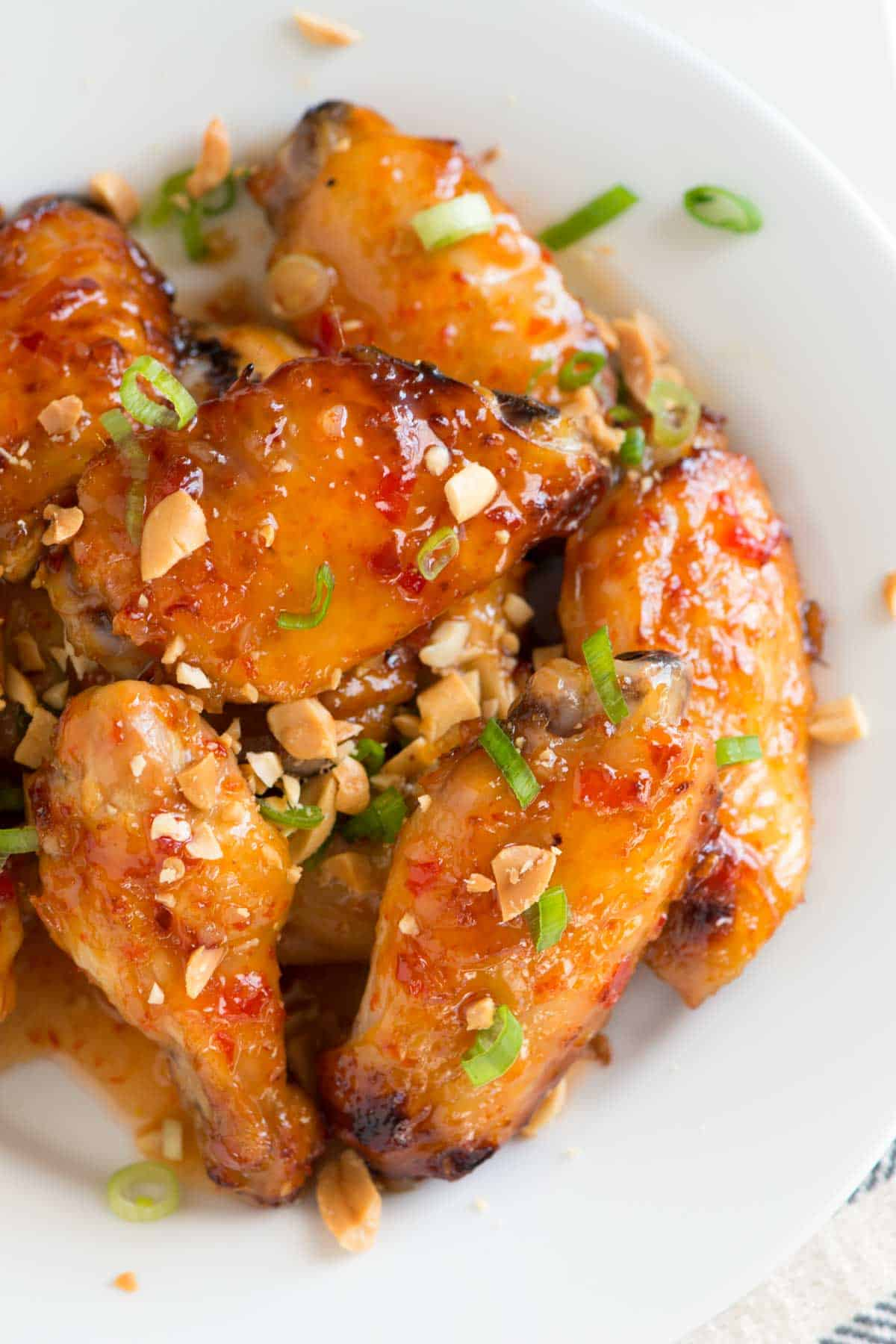 How to Bake Sweet Chili Chicken Wings