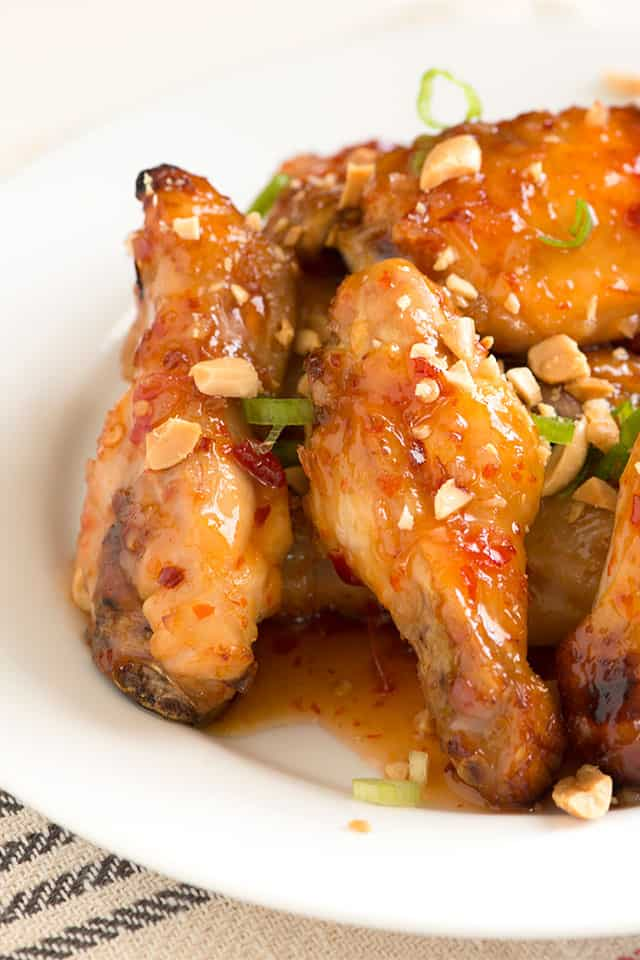 ... Need Three Ingredients for This Sticky, Sweet and Spicy Chicken Wings
