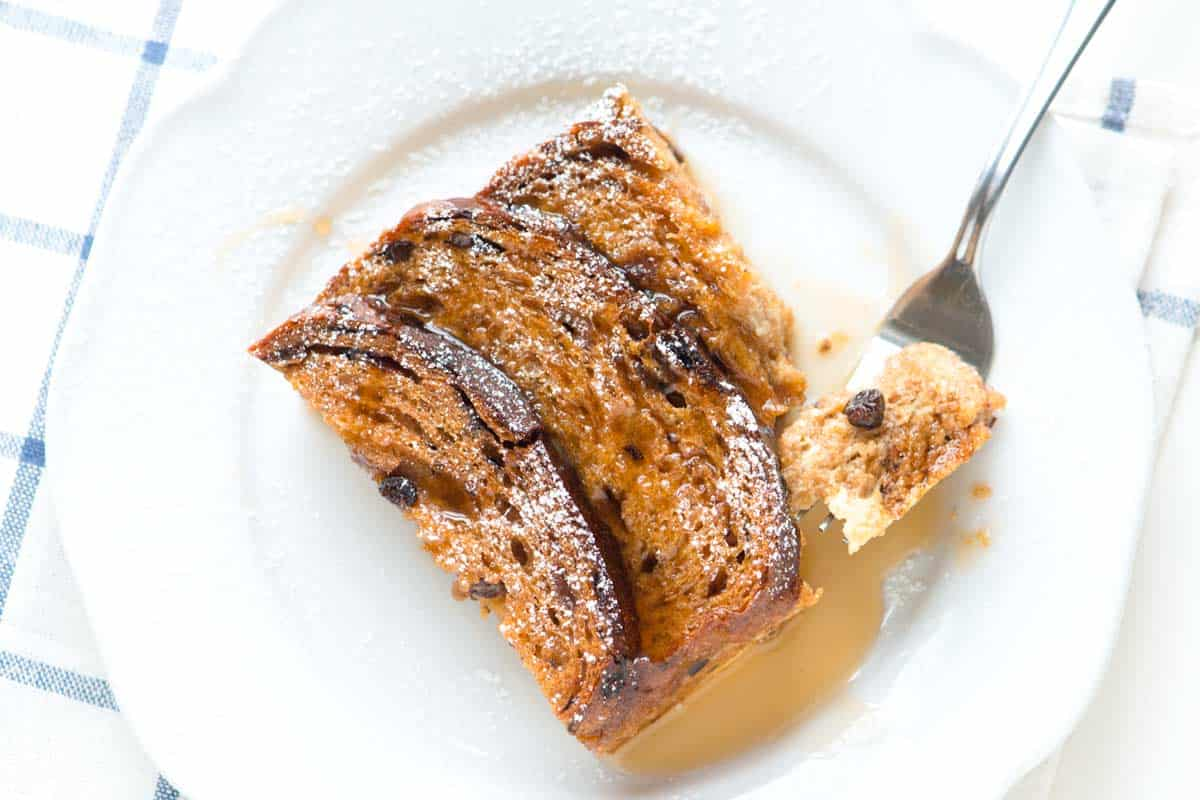 Baked Cinnamon Raisin French Toast Recipe