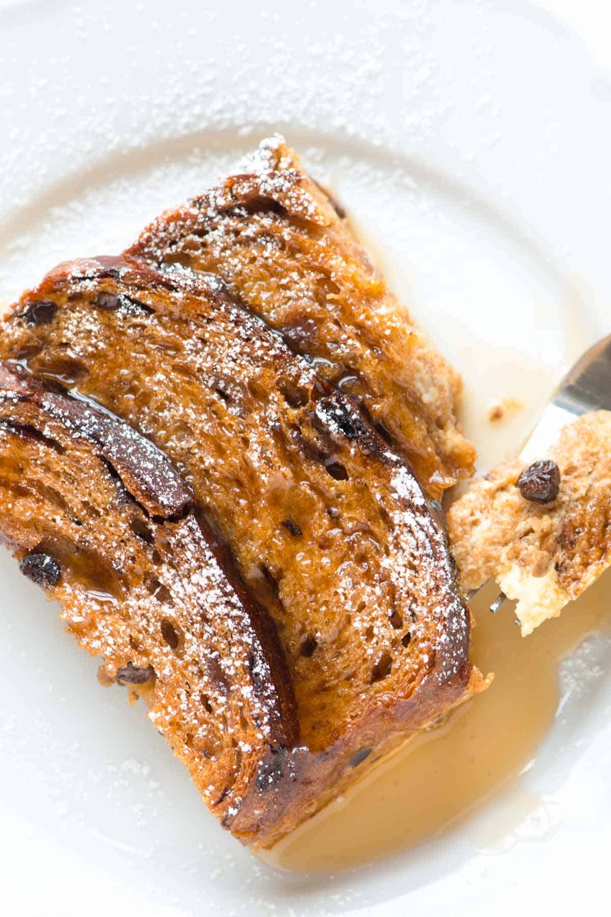 How to Make Cinnamon French Toast in the Oven