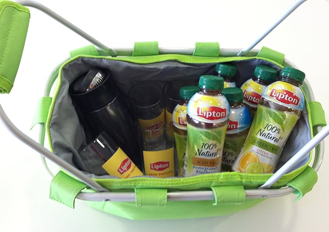 Lipton Giveaway Basket