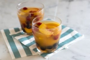 Peach Sangria Cocktail Recipe