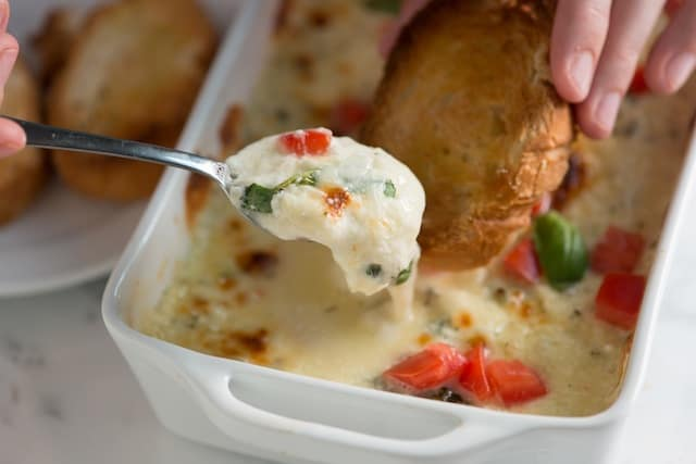 Baked Cheese Dip Recipe