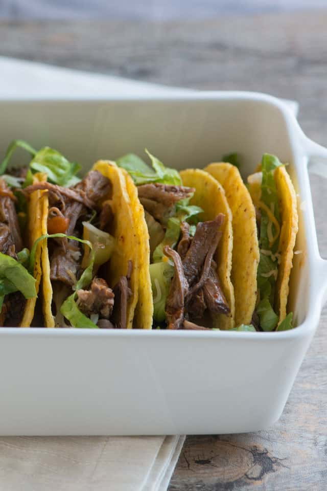 Fire Roasted Tomato and Beef Tacos Recipe