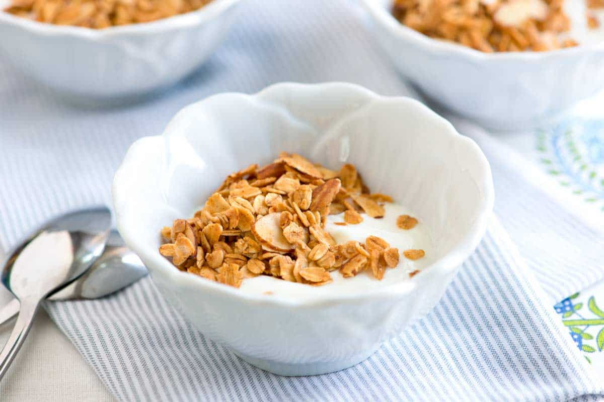 Homemade Honey Almond Granola Recipe