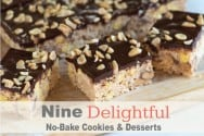 Nine Delightful No-Bake Cookies and Dessert Recipes