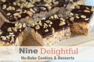Nine Delightful No-Bake Cookies and Dessert Recipes