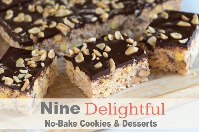 Nine Delightful No Bake Cookie And Dessert Recipes