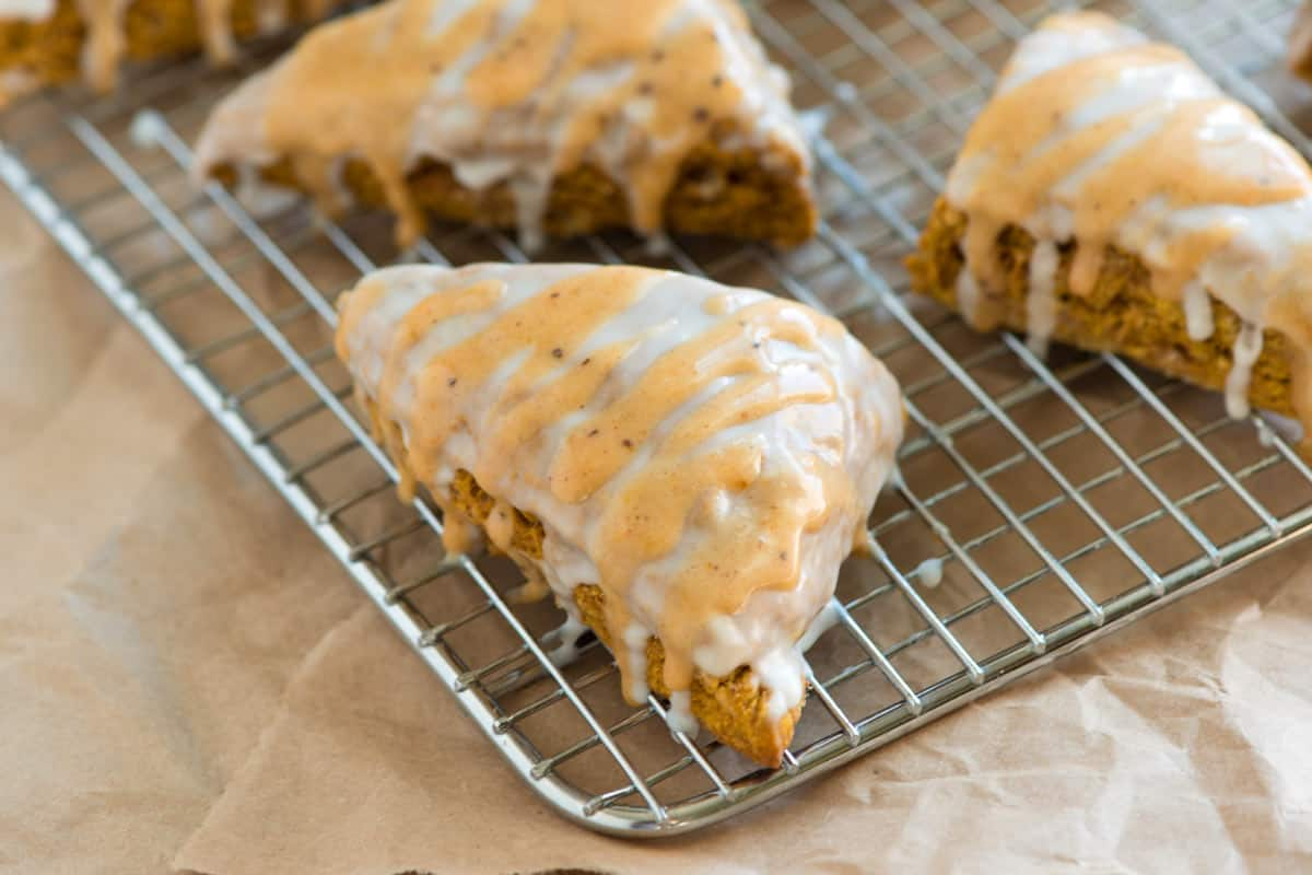 Perfectly Spiced Pumpkin Scones Recipe