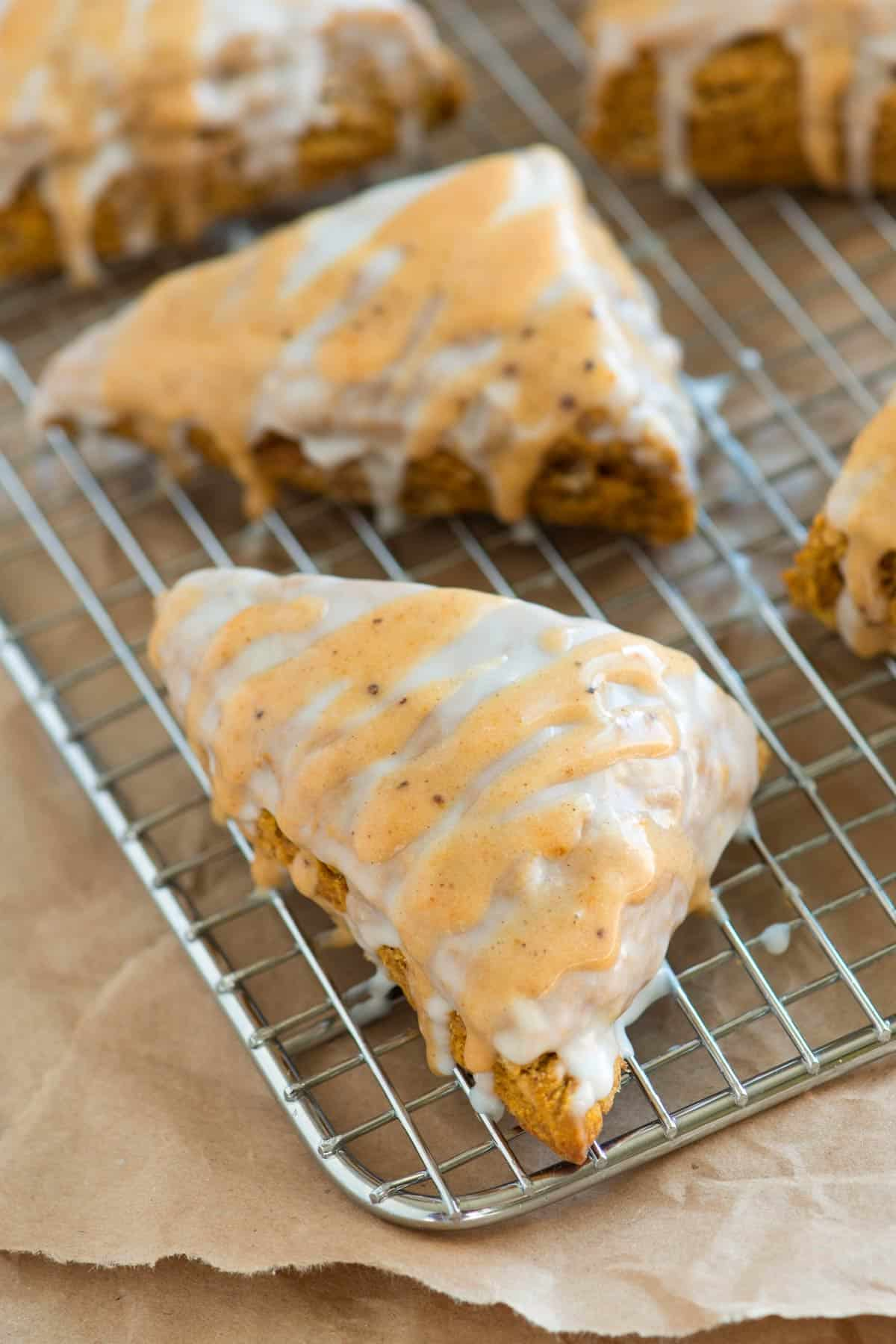 How to make our spiced pumpkin scones recipe inspired by Starbucks.